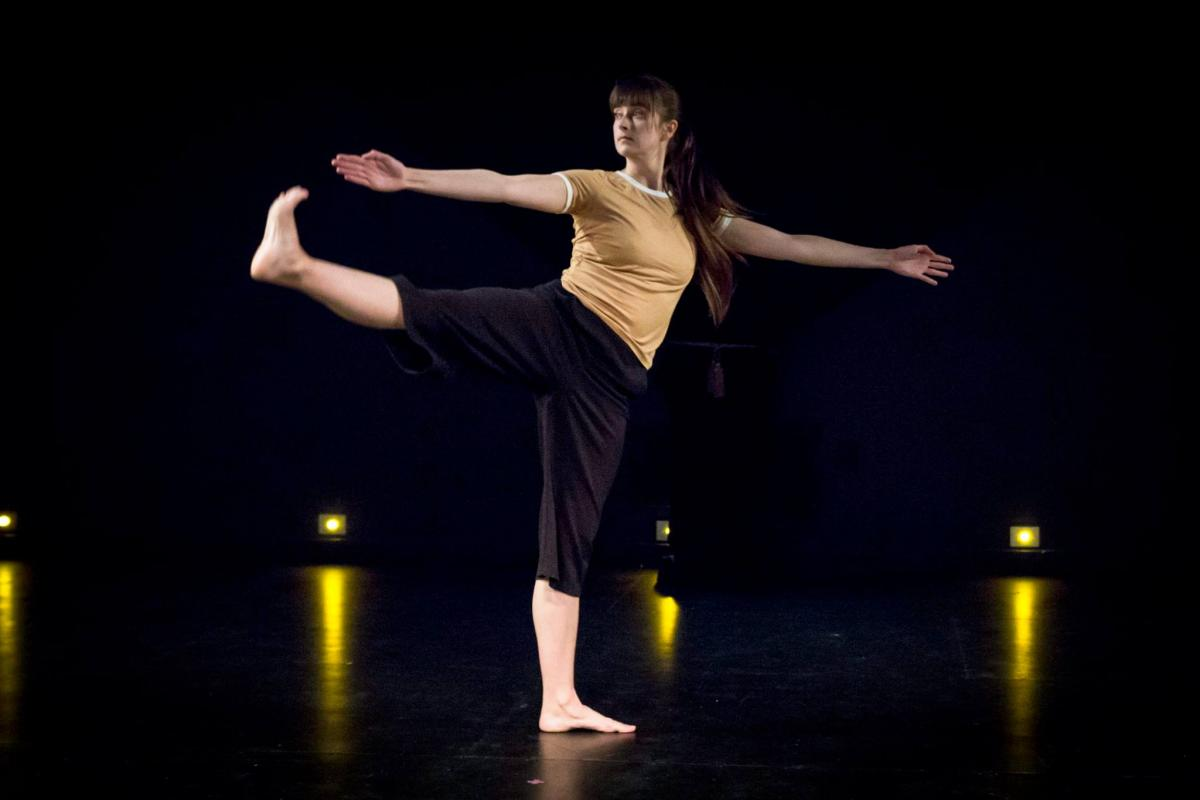 Lauren Runions performing a solo dance